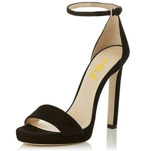 FSJ Sexy Open Toe Sandals Stiletto Platform  Heel